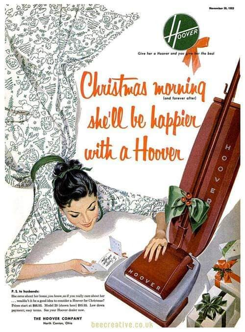 She'll be happier with a Hoover
