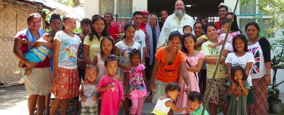 Saint John of Shanghai parish, Santa Maria, Philippines