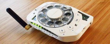 rotary mobile phone